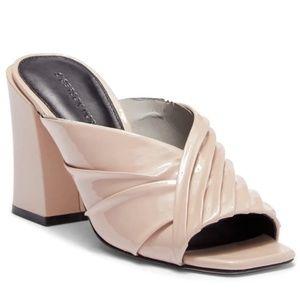 Sigerson Morrison Pramod Nude Heels Mules Sandals